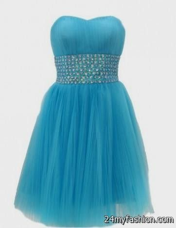 blue short dresses for teenagers 2016-2017 » B2B Fashion