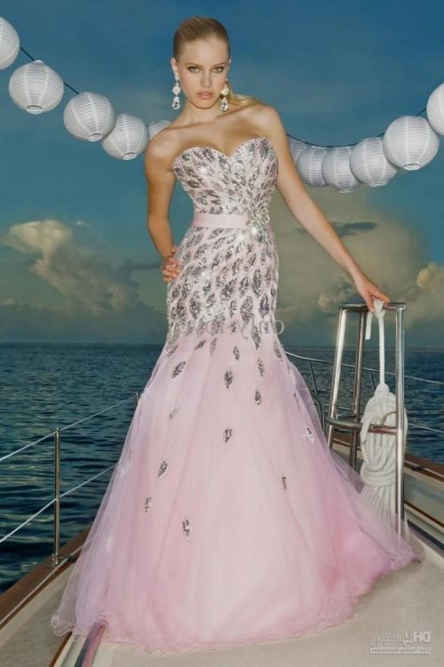 2018 prom dresses blush color