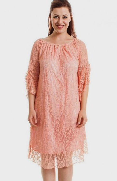 f4231fd6e6c You can share these blush lace dress plus size on Facebook