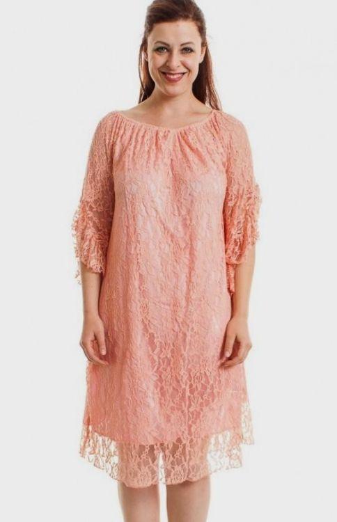 blush lace dress plus size 2016-2017 | B2B Fashion