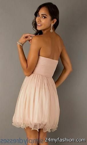 f309a1effe1 You can share these blush pink short prom dress on Facebook
