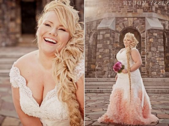 Blush Colored Plus Size Wedding Dresses Wedding Dresses
