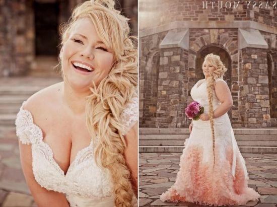 blush wedding dresses plus size 2016-2017 | B2B Fashion