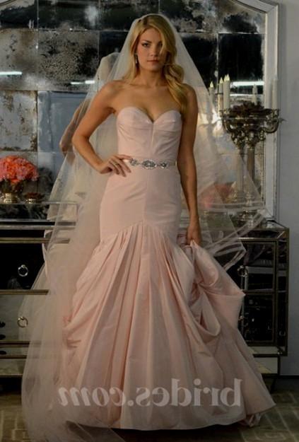 Blush Wedding Dresses Plus Size Looks B2b Fashion