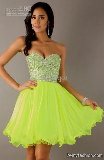 Bright Neon Prom Dresses – Dresses for Woman