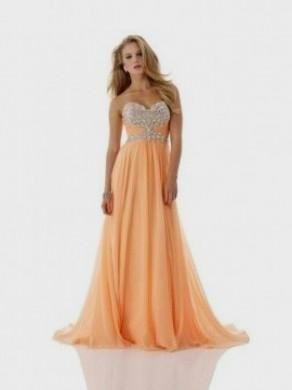 bright peach prom dresses 2016-2017 » B2B Fashion