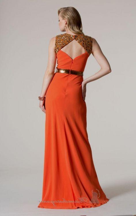 Burnt Orange Prom Dresses Looks B2b Fashion