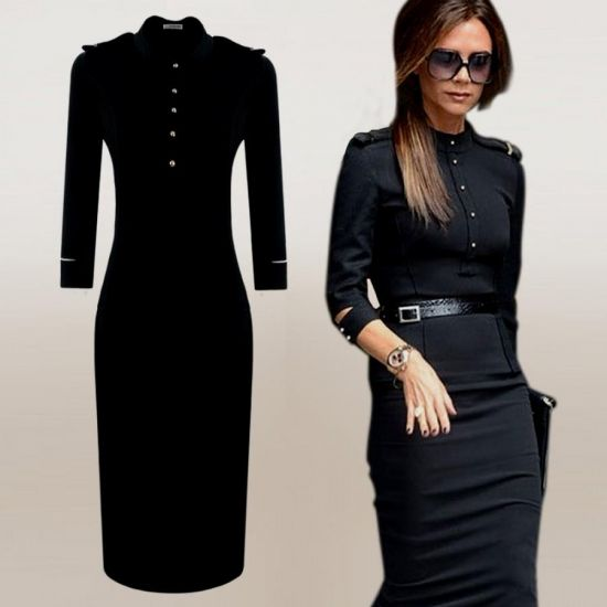 Business Dresses With Sleeves 2016 2017 B2b Fashion