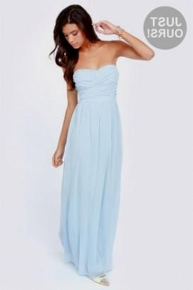 casual baby blue maxi dress 2016 2017