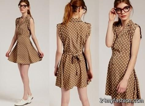 Casual Brown Dress Photo Album - Reikian