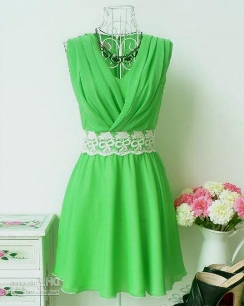 casual green dress 2016-2017 » B2B Fashion