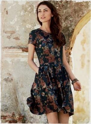 casual knee length dresses for women 2016-2017 » B2B Fashion