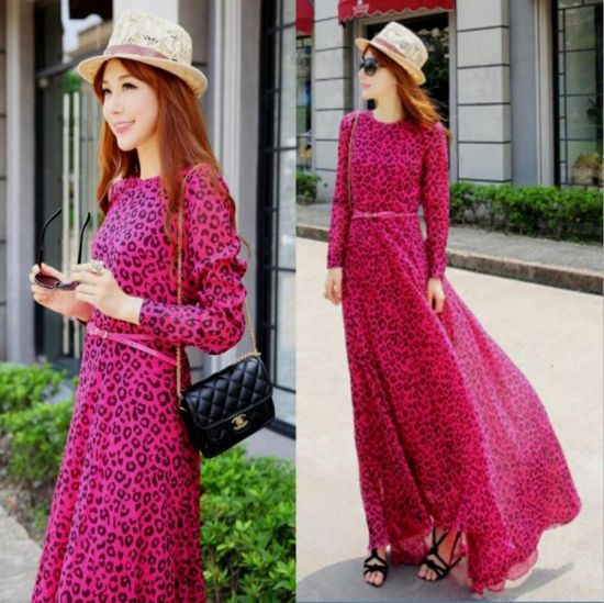casual maxi dresses with sleeves 2016-2017 » B2B Fashion