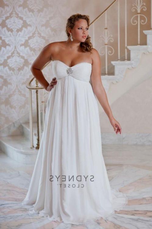 Casual Plus Size Beach Wedding Dresses 2016 2017 B2b Fashion