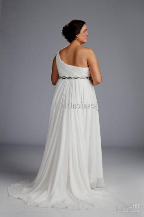 Casual plus size beach wedding dresses 2016 2017 b2b fashion for Beach wedding dresses for plus size