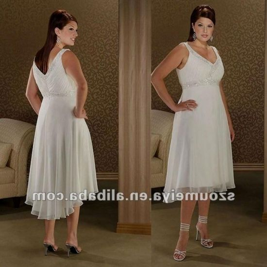 Plus Size Gothic Wedding Dresses 2016 2017: Casual Plus Size Beach Wedding Dresses 2016-2017