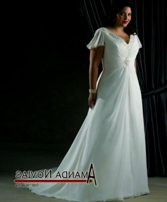 Casual Plus Size Beach Wedding Dresses Looks