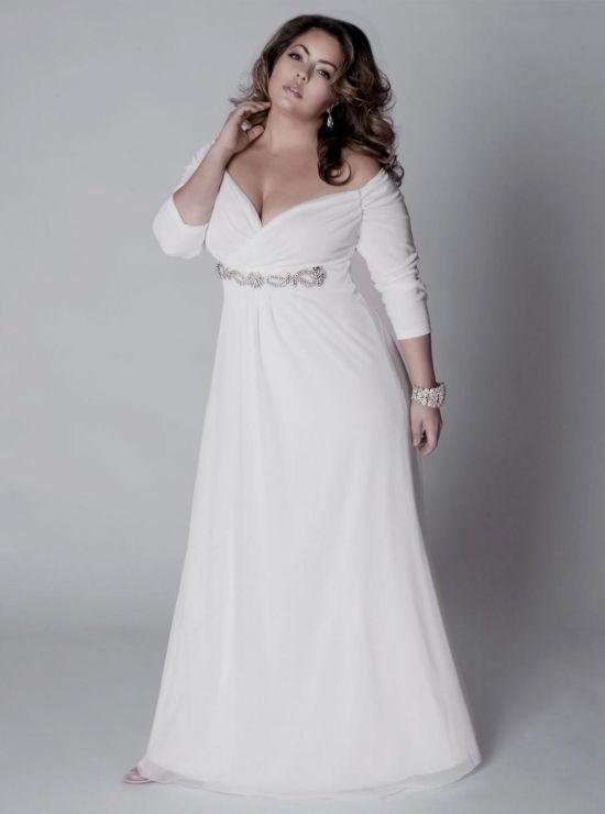 casual plus size wedding dress looks | B2B Fashion