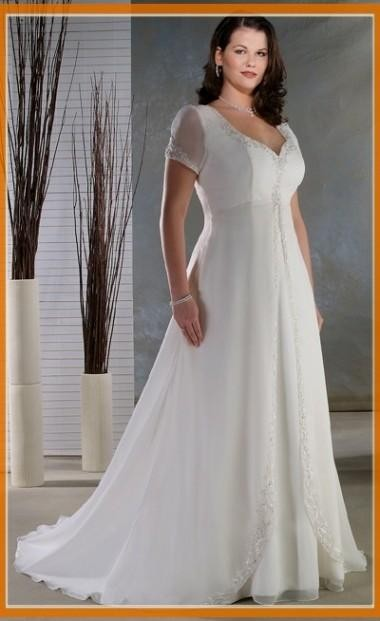 Casual Plus Size Wedding Dress 2016 2017 B2b Fashion