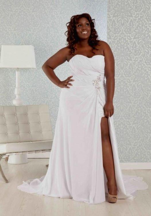 Casual plus size wedding dress 2016 2017 b2b fashion for Plus size wedding dresses in atlanta
