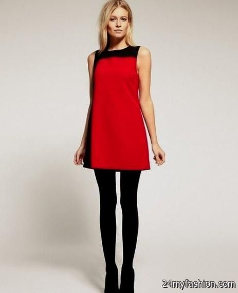 Casual Red And Black Dress Looks B2b Fashion