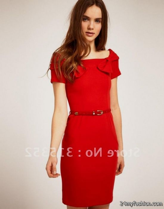 Shop the latest short sleeve mini dresses on the world s largest fashion  site. You can share these casual red summer dress on Facebook ... ee420eae1