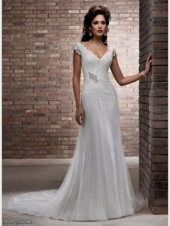 Wedding Dresses For Older Brides 2016