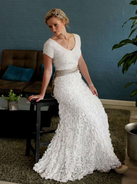 Casual Wedding Dress For Older Bride 2016 2017