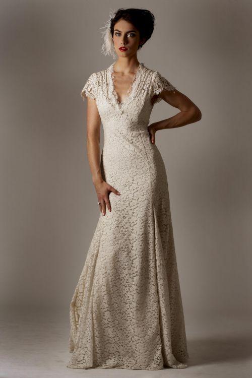 casual wedding dress for older bride 2016-2017