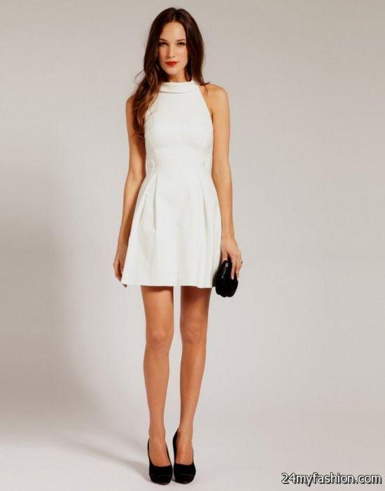 casual white dress 2016-2017 » B2B Fashion