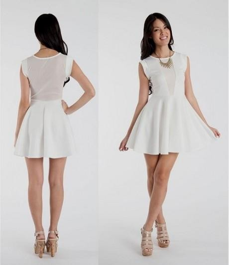 casual white dress outfit 2016-2017 » B2B Fashion