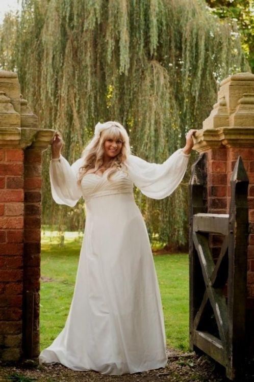 Celtic wedding dress plus size 2016 2017 b2b fashion for Celtic wedding dresses for sale