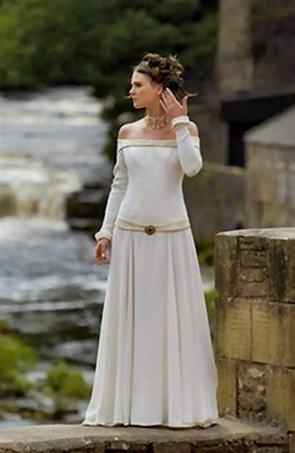 Celtic Wedding Dress Plus Size Looks