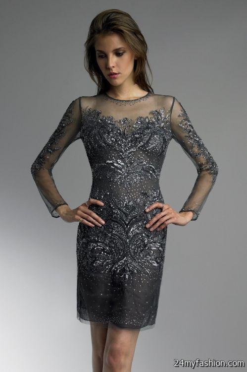 b06ca9b66d0 charcoal cocktail dresses looks