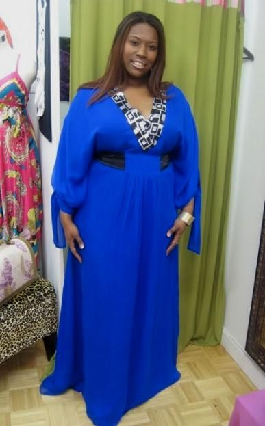 Cobalt Blue Plus Size Bridesmaid Dresses Looks B2b Fashion