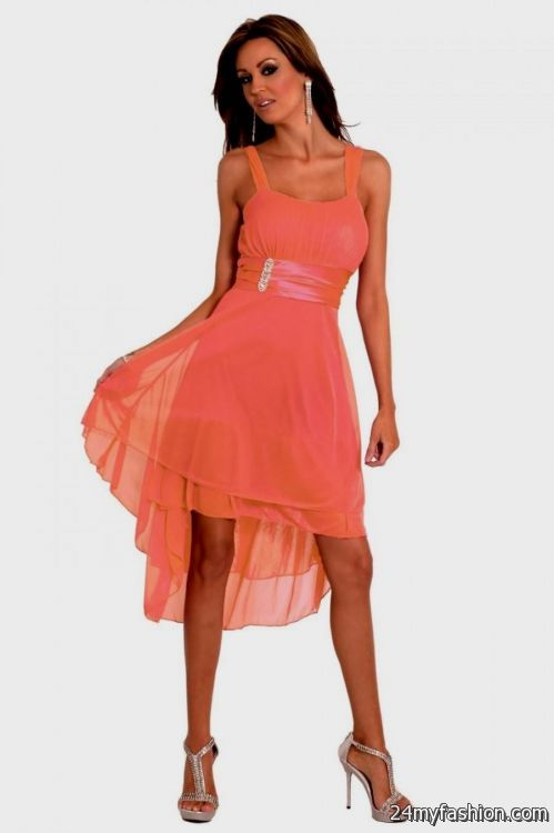 coral cocktail dress 2016-2017 » B2B Fashion