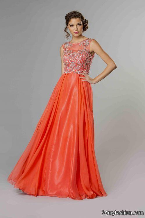 coral homecoming dresses 2016-2017 | B2B Fashion