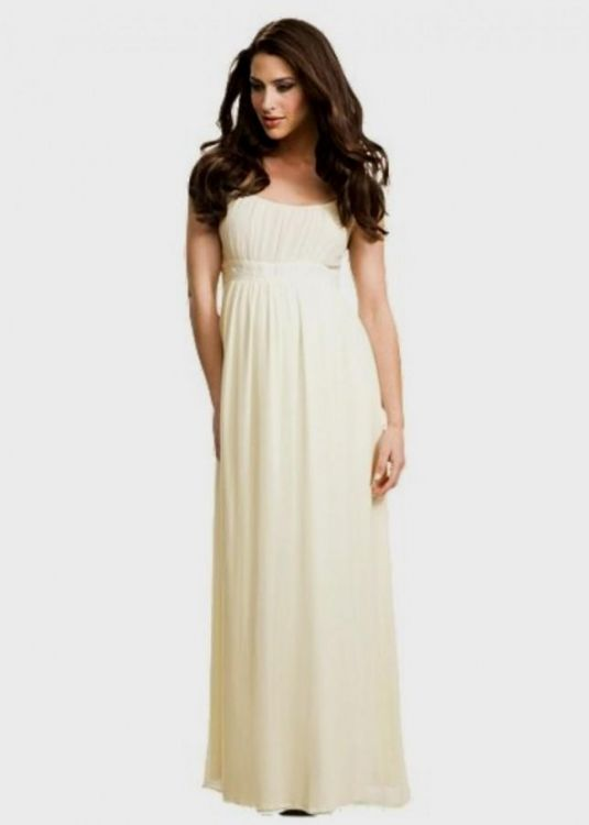 Cream Maxi Dress For Wedding 2016 2017 B2B Fashion