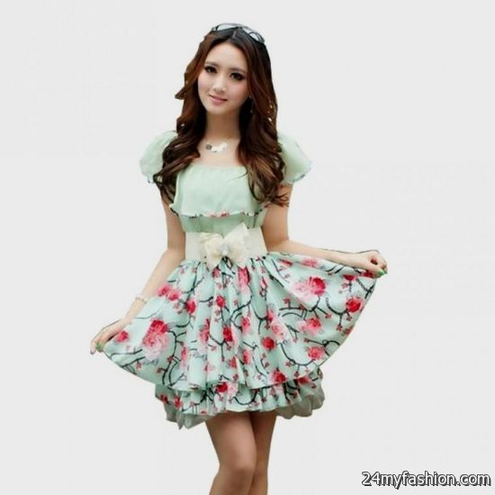 cute floral dresses for juniors 2016-2017 » B2B Fashion