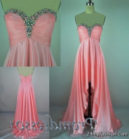 dress - Prom low high dresses tumblr video