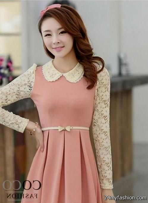Korean summer fashion dress 2018