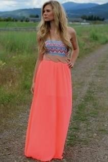 Cute spring maxi dresses
