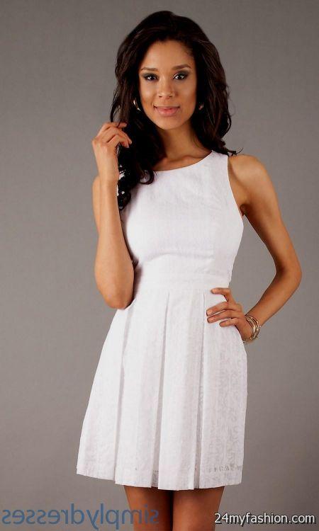 cute white dresses for graduation 2016-2017 » B2B Fashion