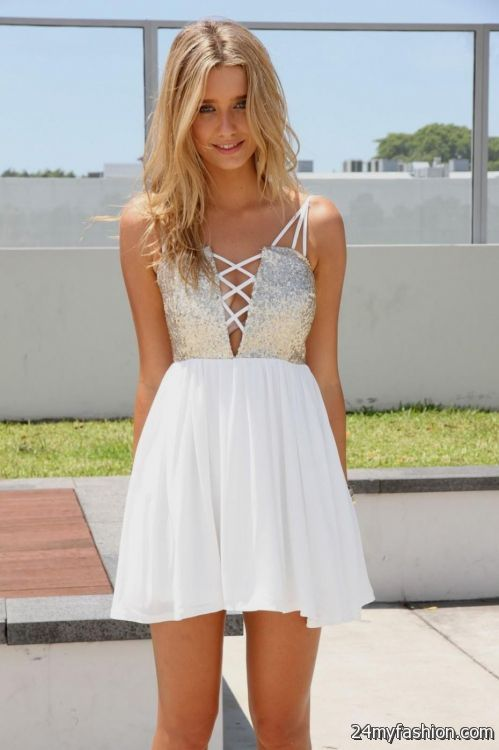 cute white party dresses 2016-2017 | B2B Fashion