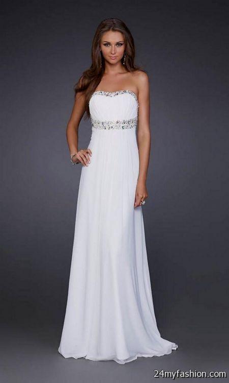 cute white prom dresses 20162017 b2b fashion