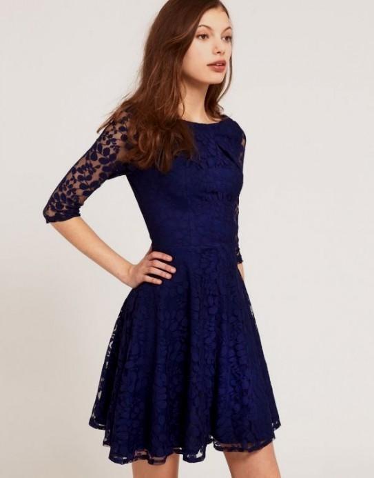 Dark Blue Dress 19