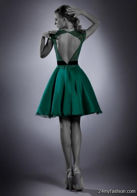 dark green cocktail dresses 2016-2017 | B2B Fashion
