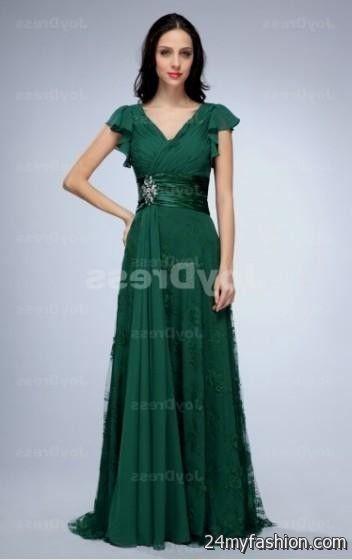 dark green party dress 2016-2017 | B2B Fashion