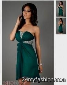 dark green winter formal dresses 2016-2017 » B2B Fashion