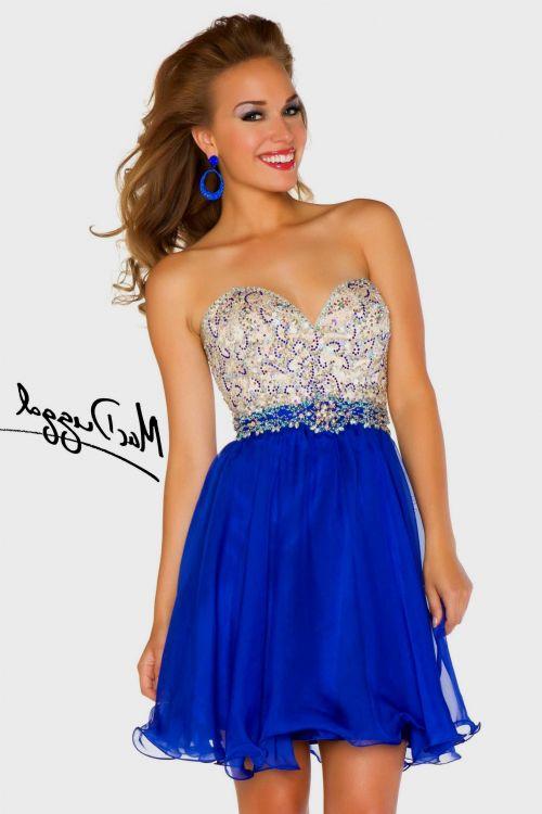 Neon Blue Dress